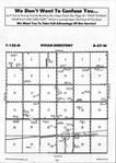 Sargent County Map Image 007, Ransom and Sargent Counties 1993